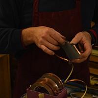 Copper edging