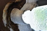 Great West trefoil frame detail removed