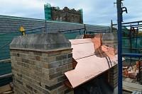 Ventilator roof mid fabrication