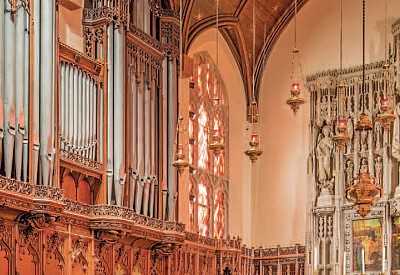 Skinner Organ Project featured in The Diapason July 2015 Issue