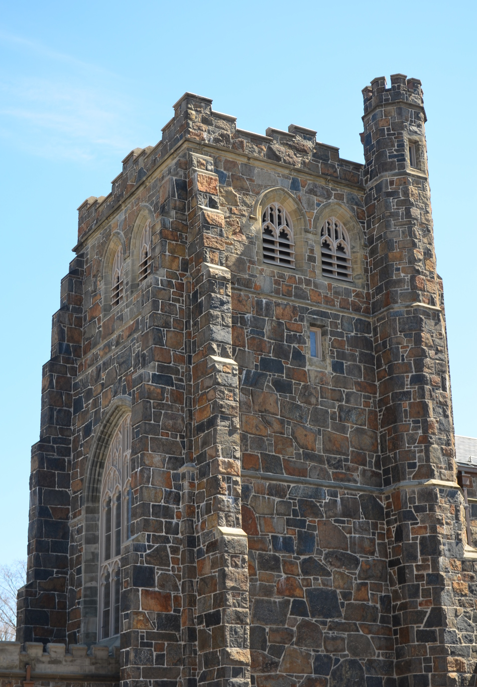 Tower at noon, photo credit:  Ashmont 2014