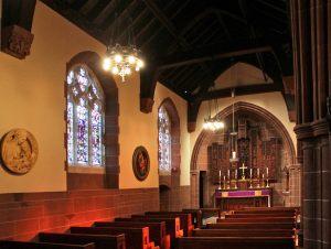 Restored Lady chapel