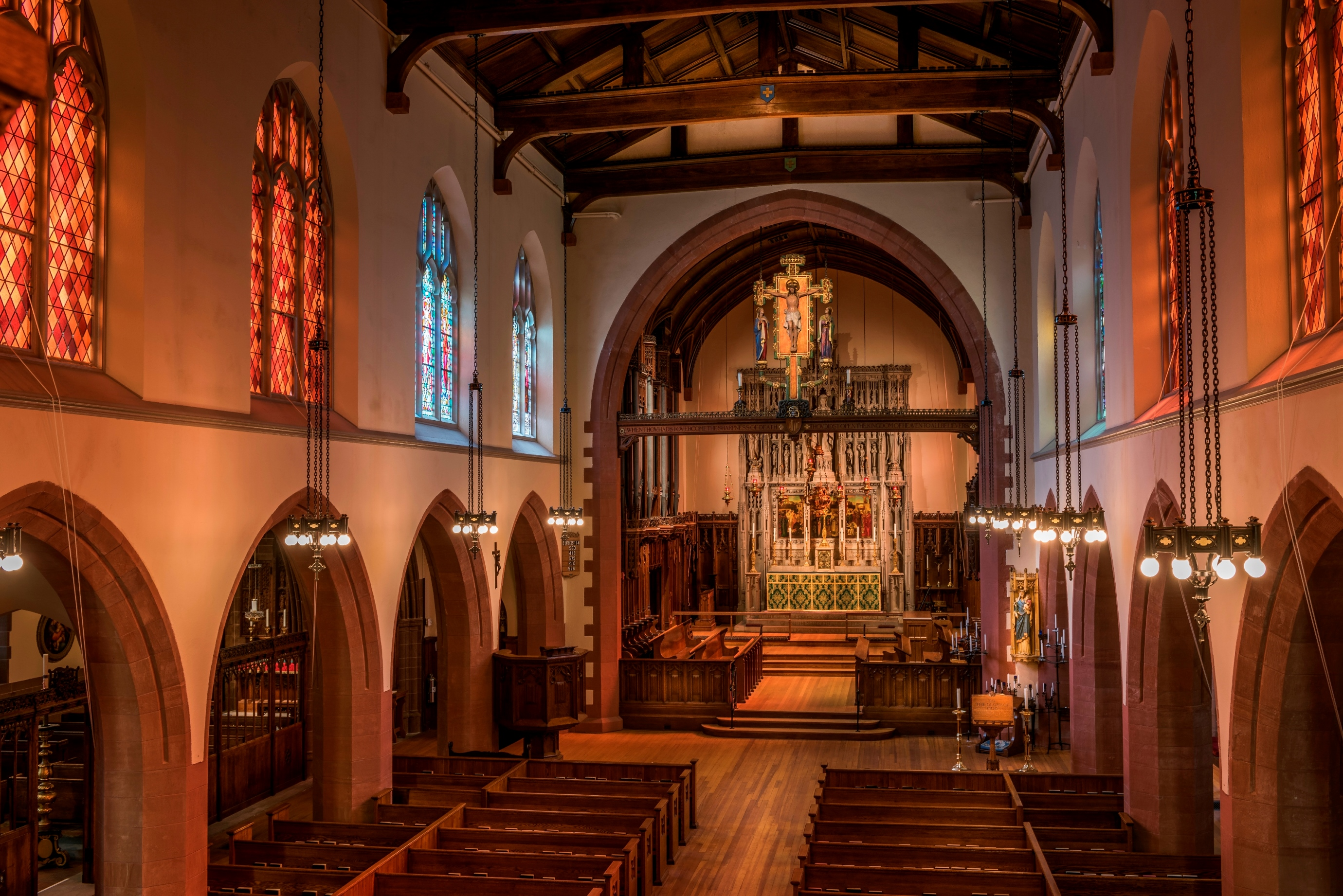 No43_All-Saints-Ashmont-interior-nave-restored-vanderwarker