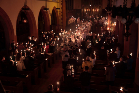 Candlemas Procession - Parish of ALl Saints, Ashmont