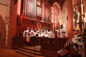 The choirs of All Saints Ashmont and Worcester (Ruth Godderz)