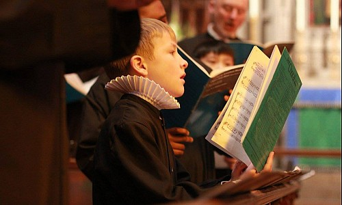 The young chorister