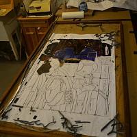 Unzipped tray panel I3