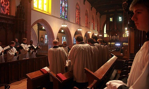 The view from the choir