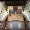 Organ tower facade and chamade