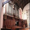 Choir with chancel organ