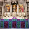 Detail of high altar and reredos