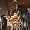 Sanctuary Lamp with chancel organ